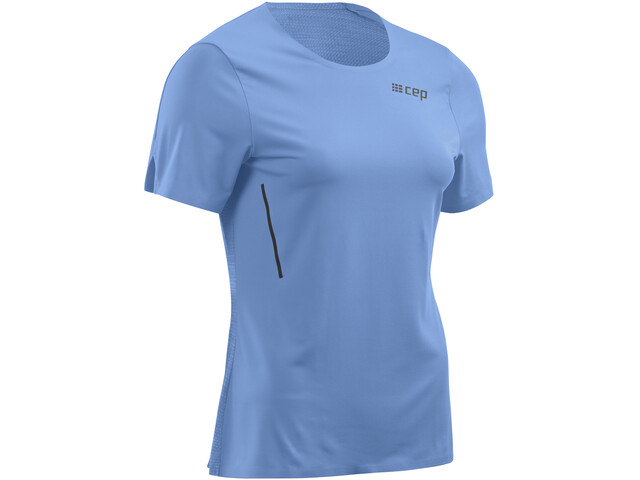 cep Run Shirt Short Sleeve Women, sky